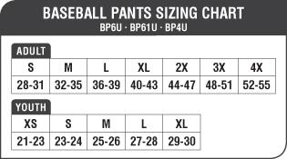 Champro pro plus youth baseball pant with braid champro pro plus